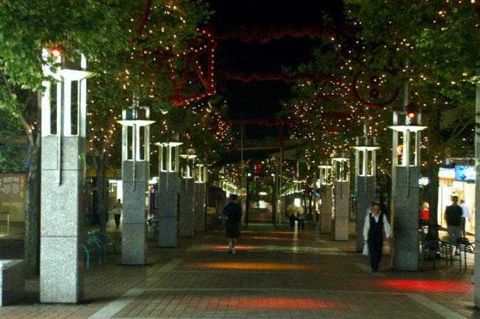 Chatswood Mall Christmas Lighting