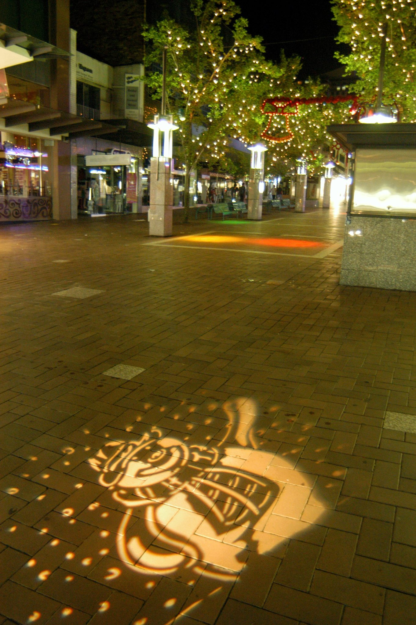 Streetscape Lighting at Chatswood Mall
