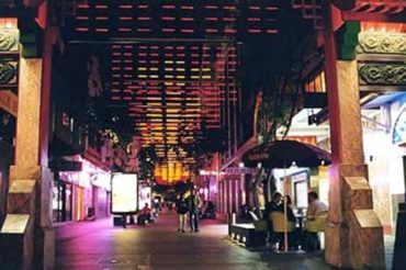 Dixon Street China Town lighting by Limelight Australia