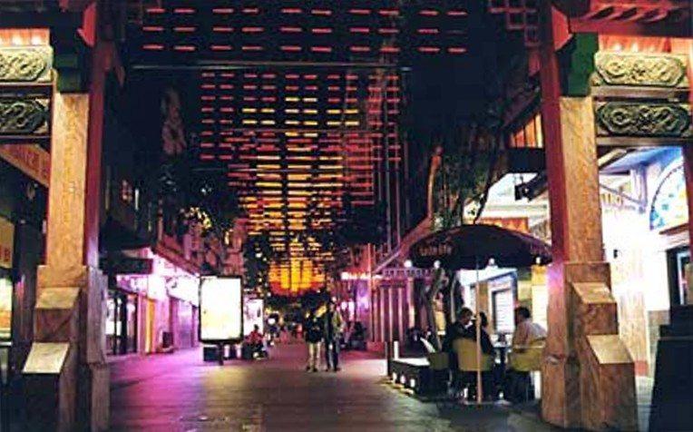 Dixon Street China Town lighting by Limelight Australia