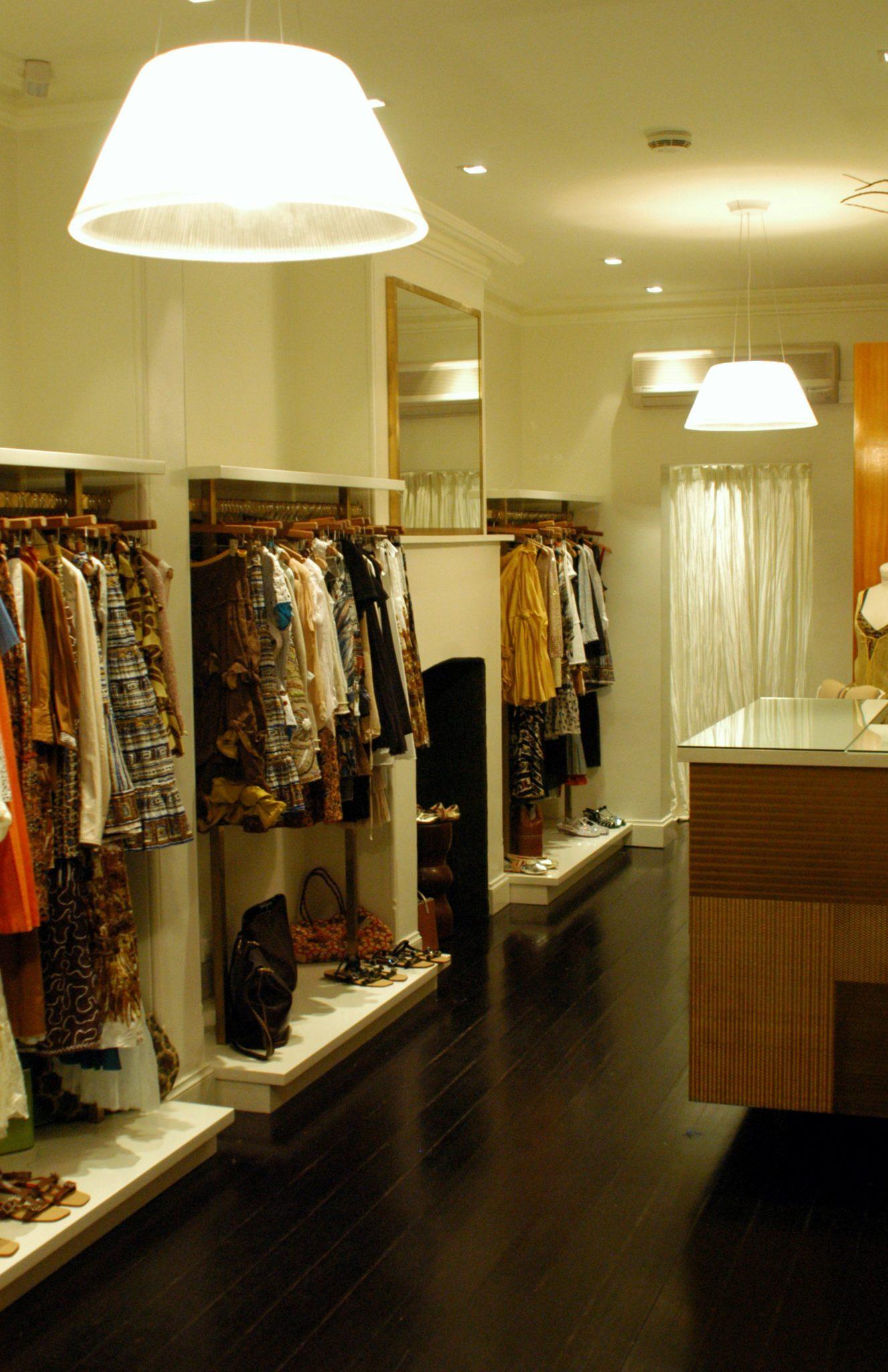Lighting for Fashion retail in Paddington Sydney by Limelight Australia