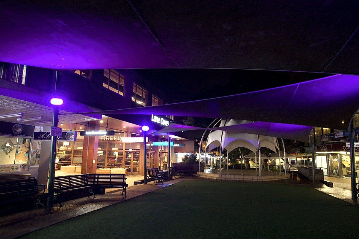 Lighting by Limelight Australia at Lane Cove Plaza Sydney