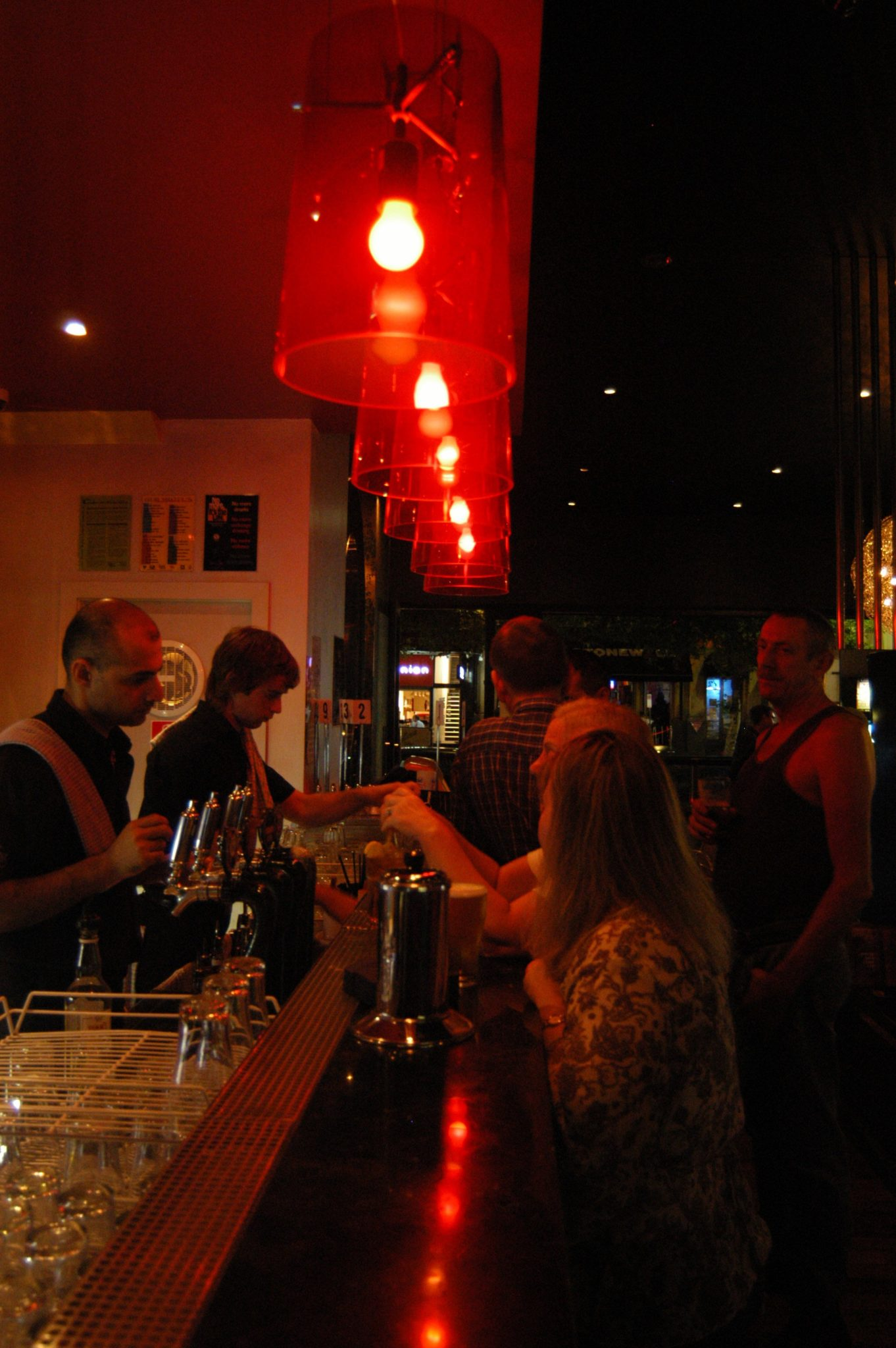 Mood lighting for clubs and bars by Limelight Australia