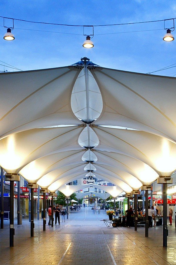Lighting of mall by Limelight Australia