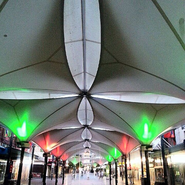 Lighting at Oxford Street Mall by Limelight Australia
