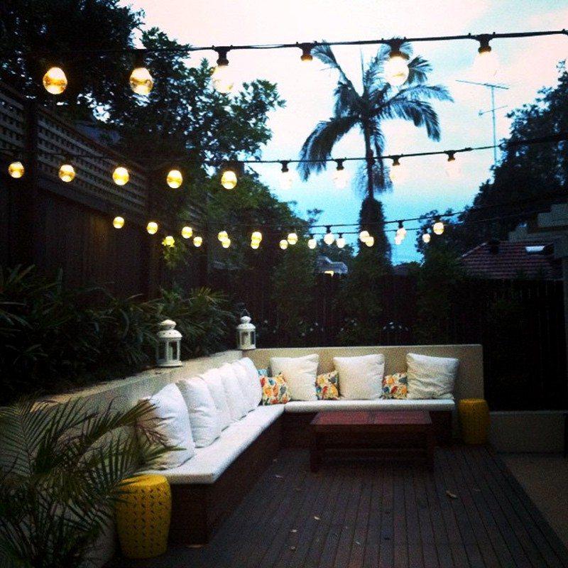 Festoon lighting by Limelight Australia