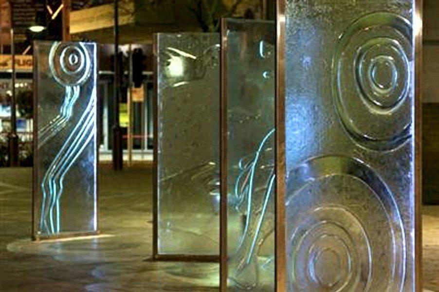 Public art exhibition lighting by Limelight Australia
