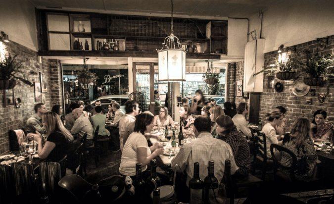 Lighting of Sefa Kitchen - Restaurant and commercial lighting by Limelight Australia