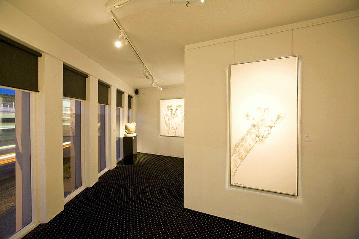 Lighting of artwork by Limelight Australia